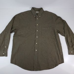 Turnbury Button Front Long Sleeve Shirt Size L
